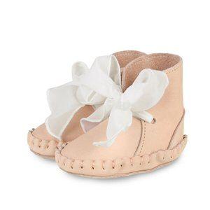 Donsje Amsterdam Pina Nubuck Leather Baby Shoes